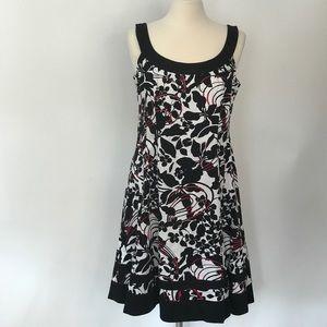 Jones wear sleeveless swing dress, sz 14 NWOT